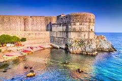 Dubrovnik, Kroatien - adriatisches Meer Lizenzfreie Stockbilder