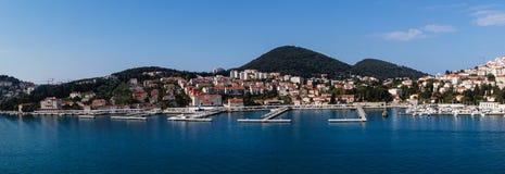 Dubrovnik in Kroatien lizenzfreies stockbild