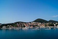 Dubrovnik in Kroatien stockbilder
