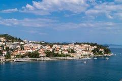 Dubrovnik in Kroatien lizenzfreie stockbilder