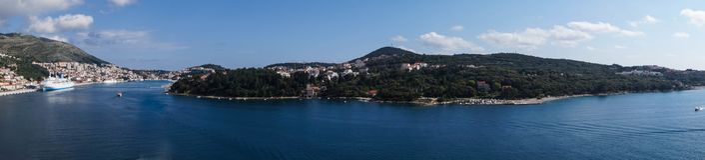 Dubrovnik in Kroatien stockfotografie