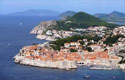 Dubrovnik Kroatien, Europa Arkivbild