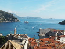Dubrovnik Kroatien Europa Royaltyfri Fotografi