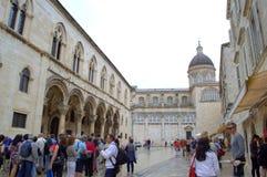 Dubrovnik kwadrat obraz stock