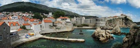 Dubrovnik. La Croatie. Images stock