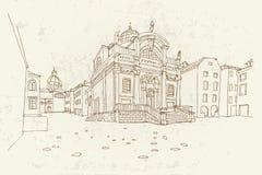 dubrovnik La Croazia royalty illustrazione gratis