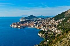 Dubrovnik Landscape Royalty Free Stock Image