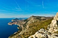 Dubrovnik-Landschaft stockfotografie