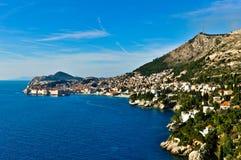 Dubrovnik-Landschaft stockbild