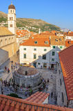 Dubrovnik Large Onofrio Royalty Free Stock Photos