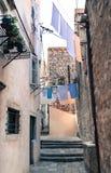 Dubrovnik-Lebensstil, Kroatien lizenzfreie stockbilder