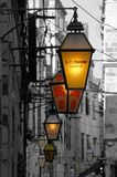 Dubrovnik Lights Royalty Free Stock Image