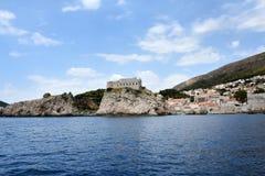 Dubrovnik linia brzegowa obraz royalty free