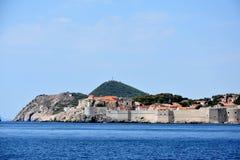 Dubrovnik linia brzegowa zdjęcia stock