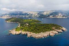 Dubrovnik - Lokrum Fotografia de Stock