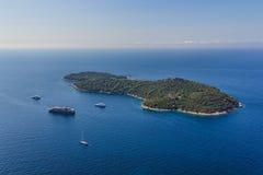 Dubrovnik - Lokrum Imagen de archivo libre de regalías