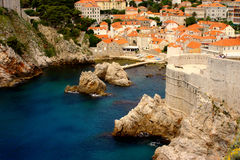 Dubrovnik mały port Obrazy Stock