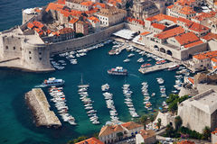 Dubrovnik Marina Royalty Free Stock Photography