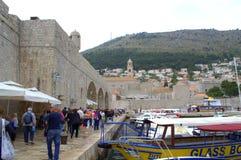 Dubrovnik marina Arkivbilder