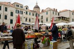 Dubrovnik Market Stock Images