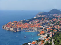Dubrovnik, medieval town Royalty Free Stock Photo