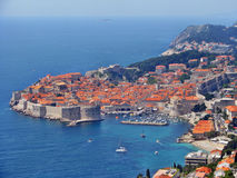Dubrovnik, medieval town Royalty Free Stock Images