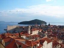 Dubrovnik-Mitte lizenzfreies stockfoto