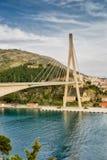 Dubrovnik most Chorwacja obrazy stock