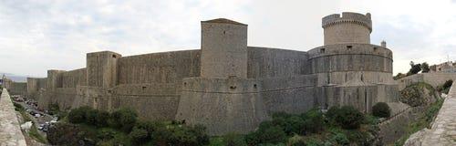 Dubrovnik mure la Croatie photographie stock libre de droits
