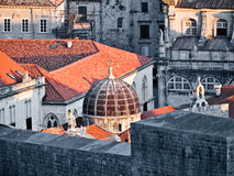 Dubrovnik mury miasta obraz royalty free