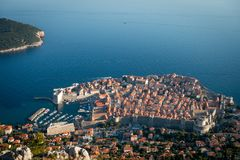 Dubrovnik nel Croatia fotografia stock
