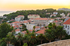 Dubrovnik new city Stock Images