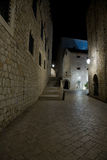 Dubrovnik by night Stock Photo