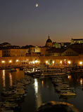 Dubrovnik by night Royalty Free Stock Image