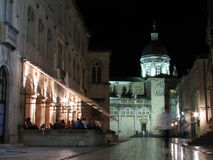 Dubrovnik by Night, Croatia Stock Photos