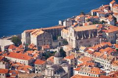 Dubrovnik  Old City Stock Photo