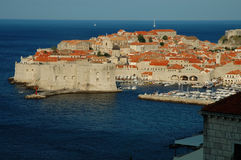 Dubrovnik, the old city on the Adriatic Sea coast Royalty Free Stock Images
