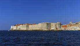 Dubrovnik old city on the Adriatic Sea, South Dalmatia region, Croatia Royalty Free Stock Photos