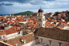Dubrovnik Old City Architecture Royalty Free Stock Photo