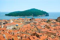 Dubrovnik old city center, Croatia Royalty Free Stock Photos