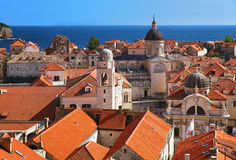 Dubrovnik old city, Croatia Royalty Free Stock Photos