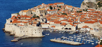 Dubrovnik old city, Croatia Royalty Free Stock Images