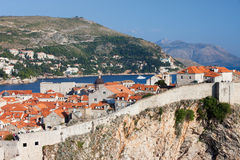 Dubrovnik Old City in Croatia Royalty Free Stock Photos