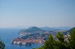 Dubrovnik. Old city in croatia, adriatic pearl Royalty Free Stock Photos
