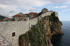 Dubrovnik old city Croatia Stock Photography