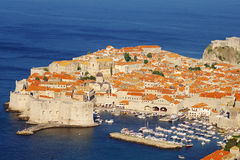 Dubrovnik old city, details, Cathedral Royalty Free Stock Photos