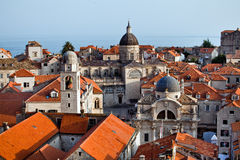 Dubrovnik old city, Montenegro Stock Photos