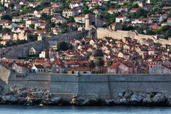 Dubrovnik old city view Stock Photo