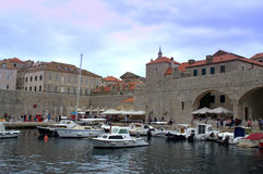 Dubrovnik Old city view Royalty Free Stock Images