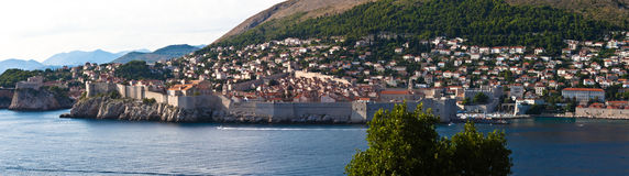 Dubrovnik old city view - HDR image process Stock Images
